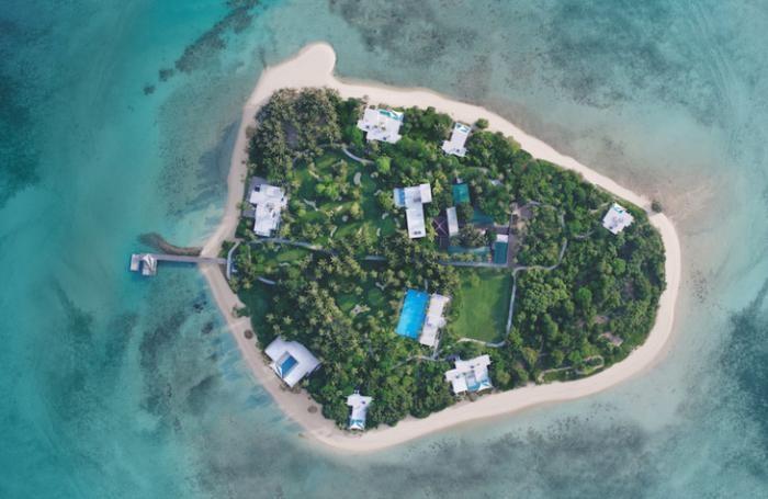 Как выглядит один из самых дорогих курортов мира (6 фото)
