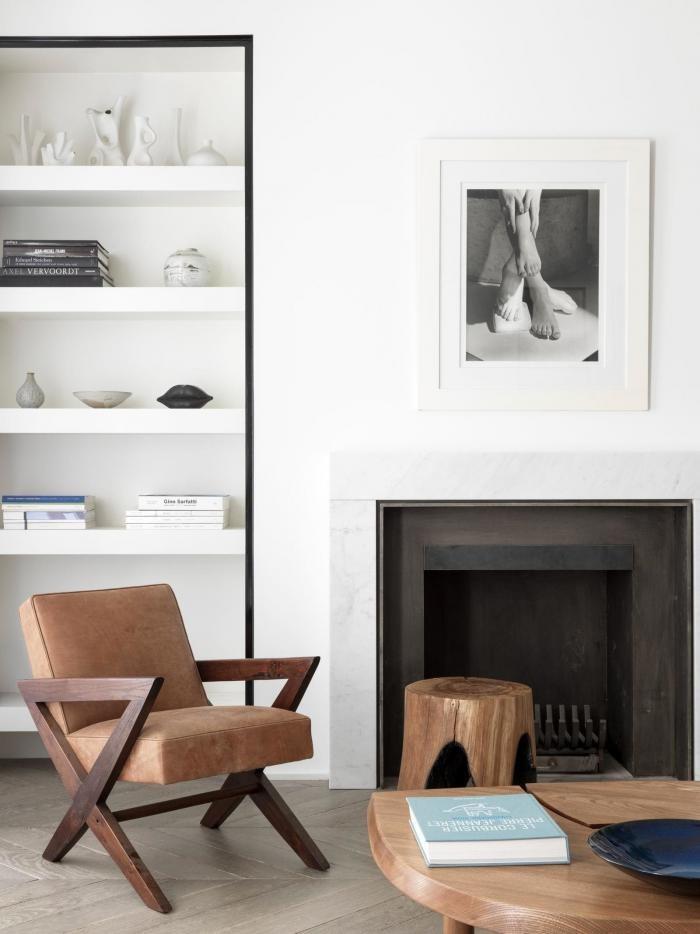 Современный роскошный интерьер квартиры в Париже (11 фото)