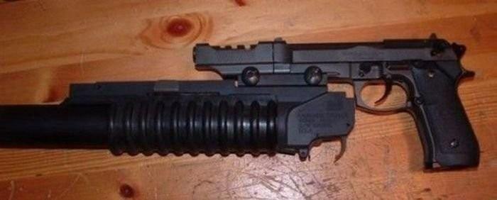 Самое необычное огнестрельное оружие (36 фото)