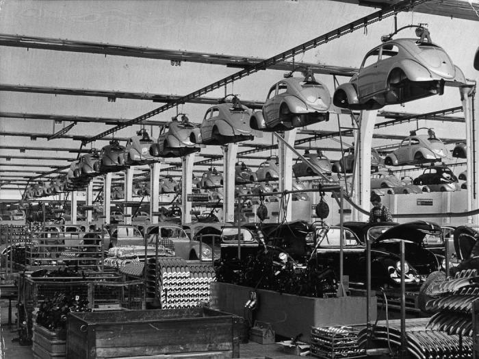 Послевоенные «Жуки» (21 фото)