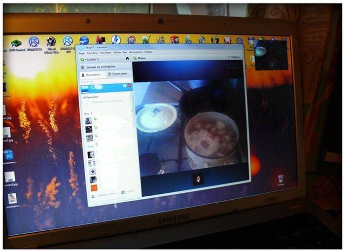 Видео наблюдение за картошкой (3 фото)