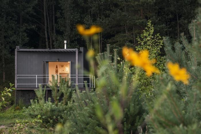 Загородный дом 14 квадратных метров в Литве (17 фото)