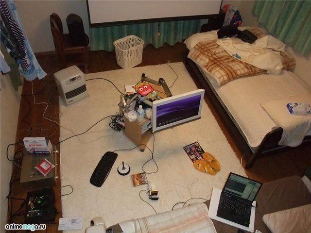 Малогабаритная квартира в Японии (23 фото)