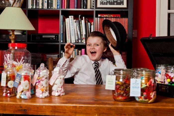 Юный предприниматель (5 фото)