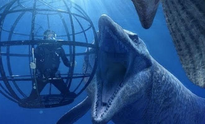Морские чудовища из мифов, которые существуют на самом деле (2 фото)