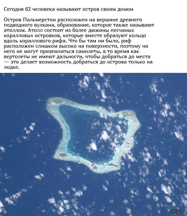 Все жители острова Пальмерстон произошли от одного и того же (9 фото)
