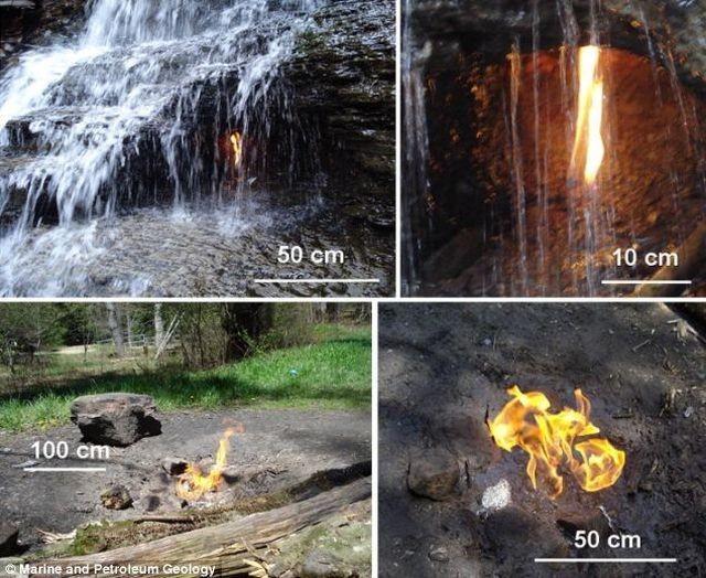 Тайна естественного вечного огня (3 фото)