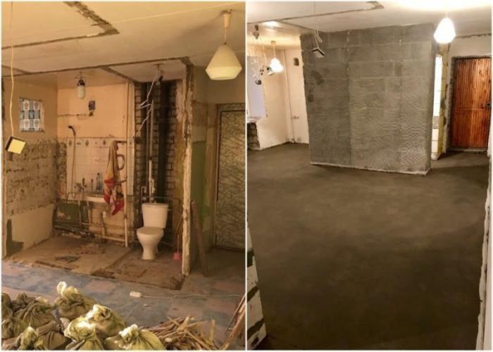Хозяин «хрущевки» сломал ненужные стены (12 фото)