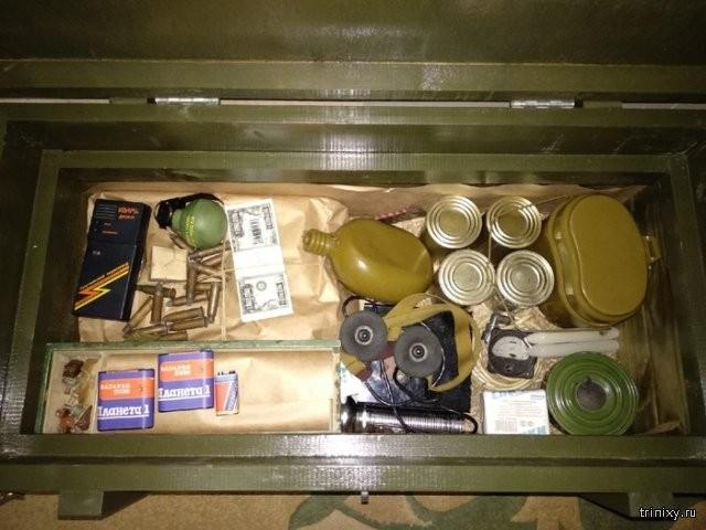 Набор для выживания во время зомби-апокалипсиса (8 фото)