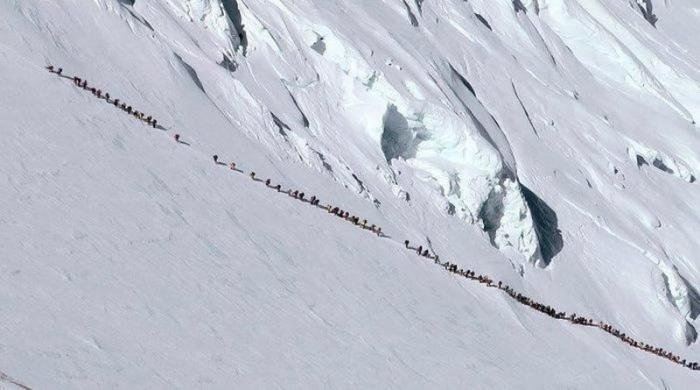 Очередь за смертью на Эвересте (3 фото)