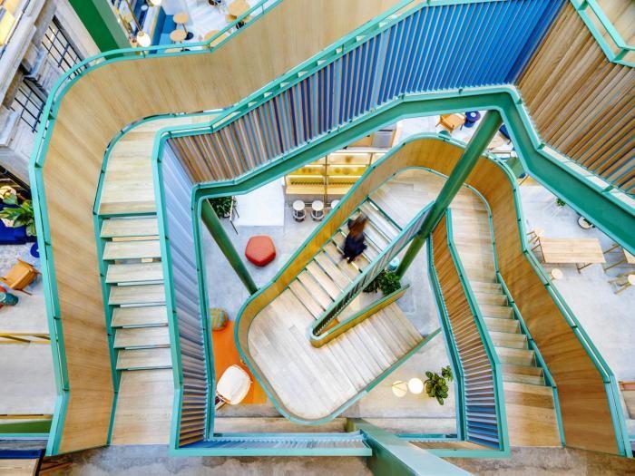 Инновационный коворкинг-центр в Шанхае (17 фото)