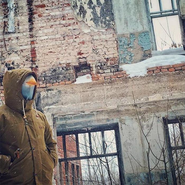 Чудаки, которым по приколу жить в маске голубя (21 фото)