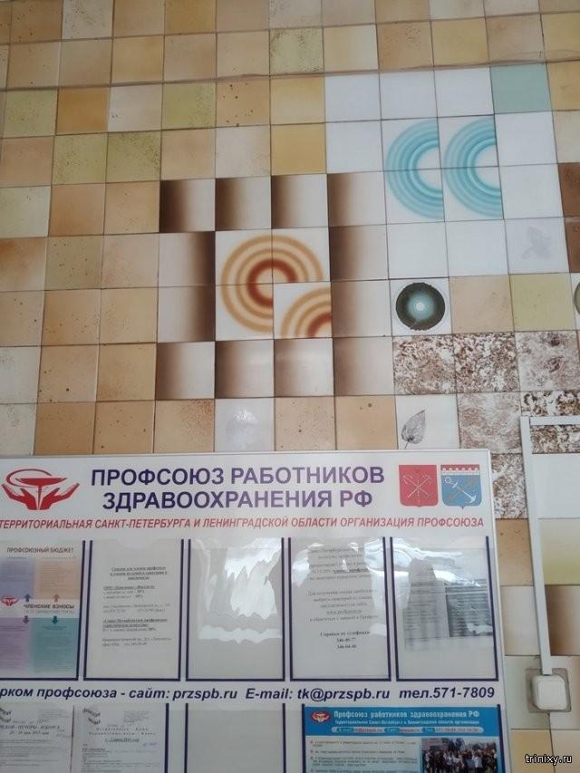 Ад для перфекциониста в одной из поликлиник Санкт-Петербурга (7 фото)
