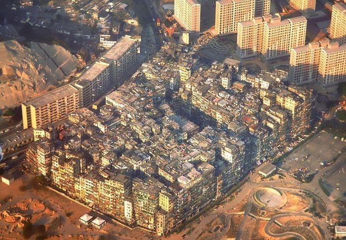 Город-крепость Коулун (4 фото)