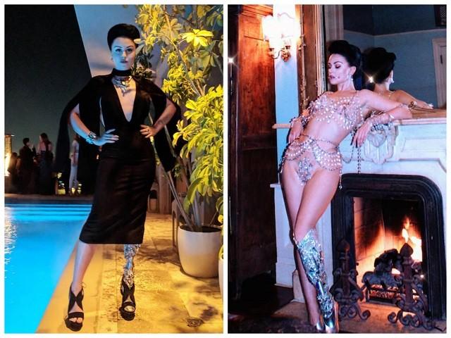 Виктория Модеста - модель без ноги (9 фото)