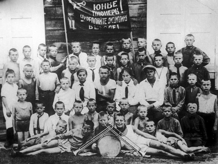 Фотографии советских пионеров (13 фото)