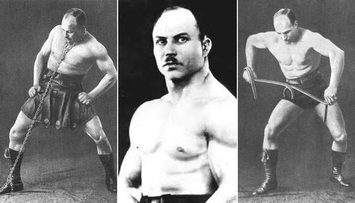 История русского силача Александра Засса (8 фото)