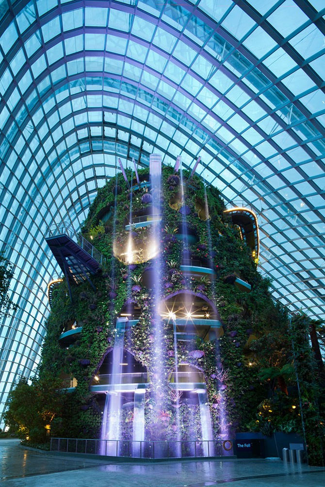 Зимние сады в Сингапуре — лучшее здание в мире (14 фото)