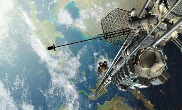 Лифт в космос (5 фото)