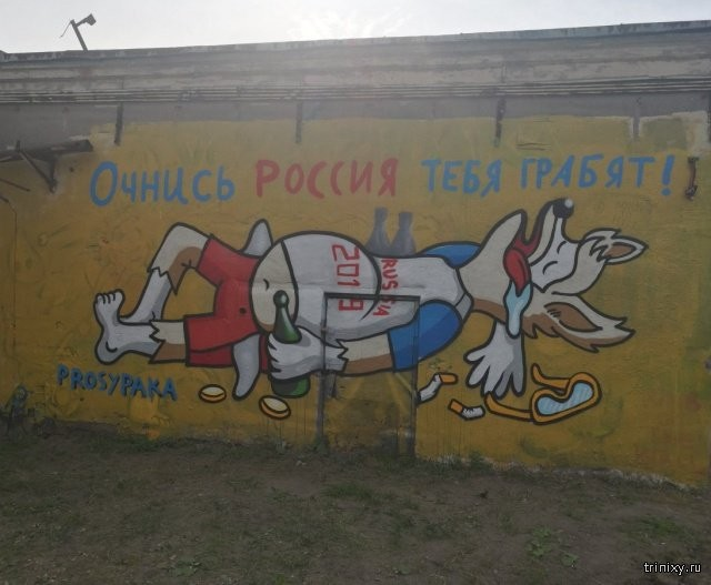 """Просыпака"" на станции МЦК Ростокино в Москве (3 фото)"