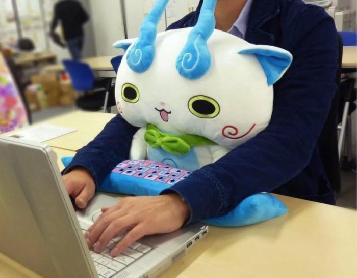 Новый хит японских офисов (11 фото)