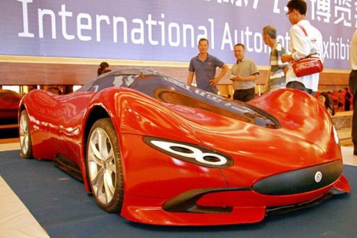 Мечта своими руками: китаец самостоятельно создал суперкар (7 фото)