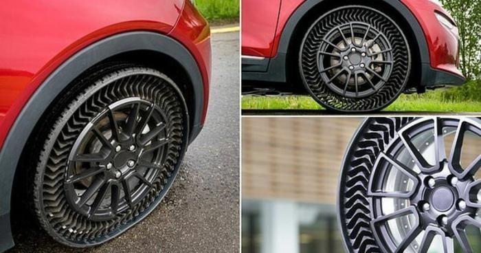 Michelin и General Motors начинают испытания безвоздушных шин (4 фото