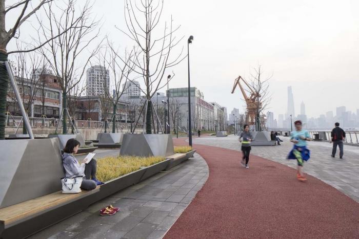 Прогулка по набережной в Шанхае (43 фото)
