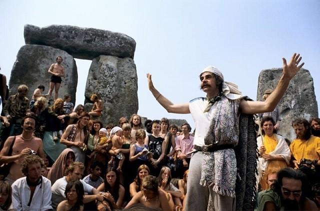 Подборка фото Хиппи 1960-1970-х годов (18 фото)