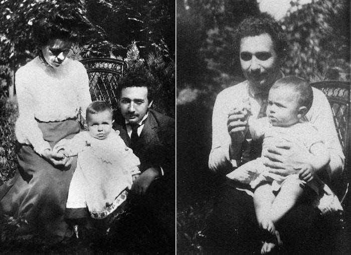Чего натерпелись жены Альберта Эйнштейна (11 фото)
