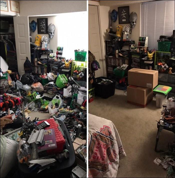 До и после наведения порядка (28 фото)