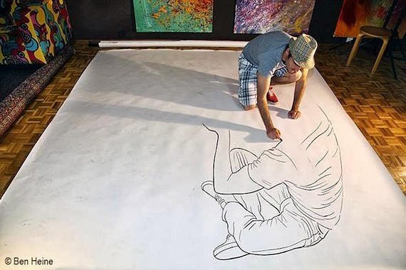 Волшебный карандаш Бена Гейне (16 фото)