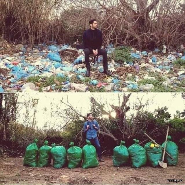 Глобальная уборка - единственный толковый челлендж (26 фото)
