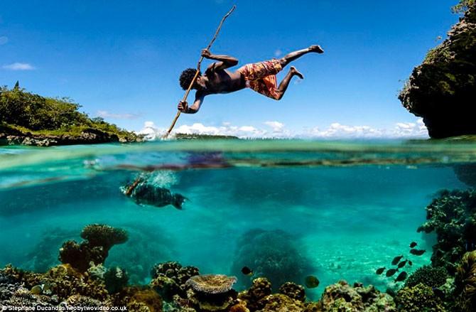 Рыбалка в Новой Каледонии (8 фото)