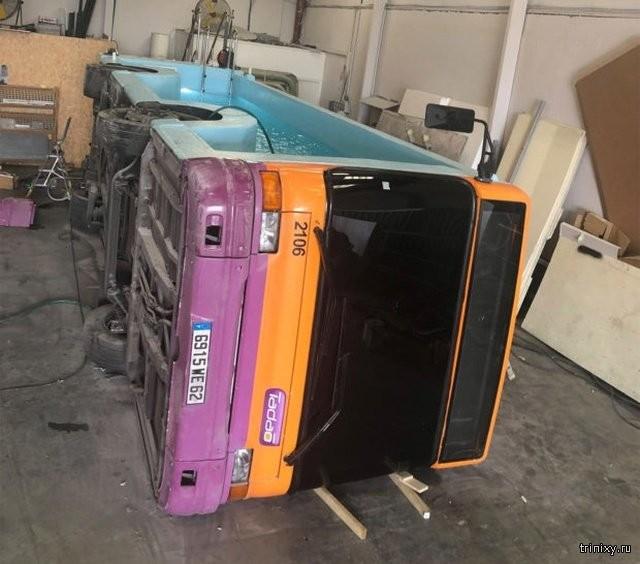 Во что можно превратить старый автобус? (5 фото)