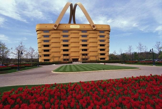 Офис в виде корзинки для пикника (6 фото)
