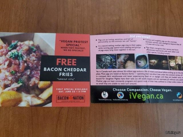Гениальный ход от канадского мясного ресторана (2 фото)