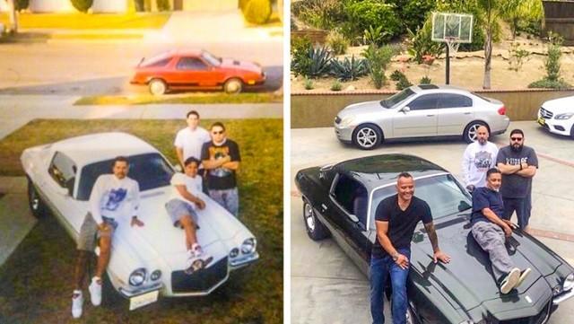 Флешмоб: повторить старые снимки из семейного альбома (25 фото)
