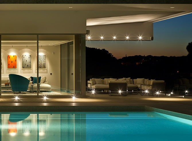 Красочная вилла Quinta в Португалии (13 фото)