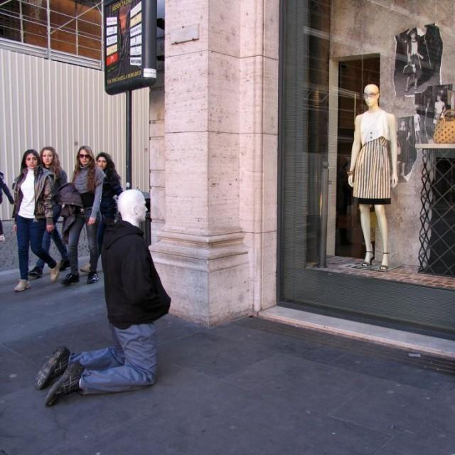 Самый простой способ удивить жителей мегаполиса (24 фото)