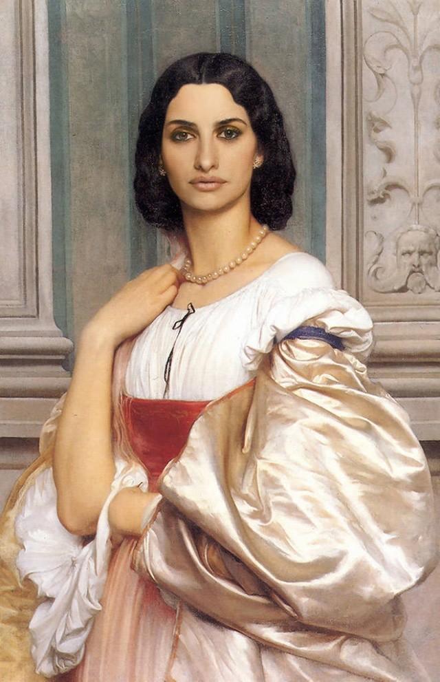 Знаменитости на полотнах классических картин (21 фото)