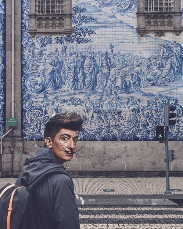 Персонажи искусства в современном мире (19 фото)