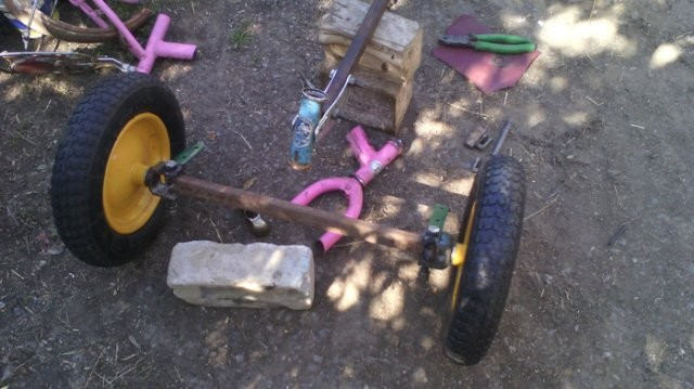 Веломобиль для ребенка своими руками (15 фото)