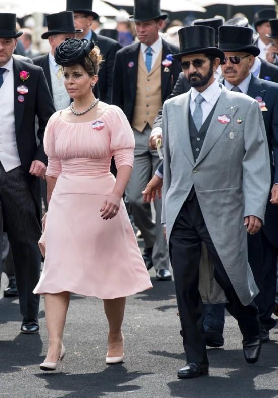 Жена правителя Дубая принцесса Хайя сбежала в Европу (6 фото)