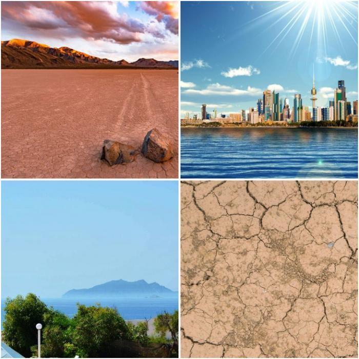 Как выглядят самые жаркие места в мире (7 фото)