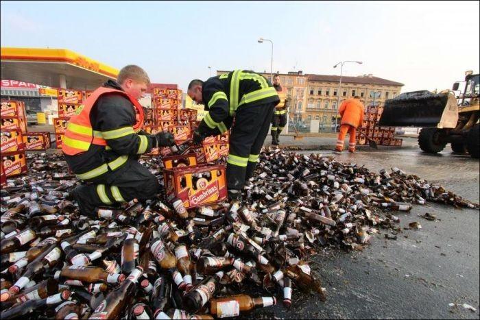Пьянка по крупному (12 фото)