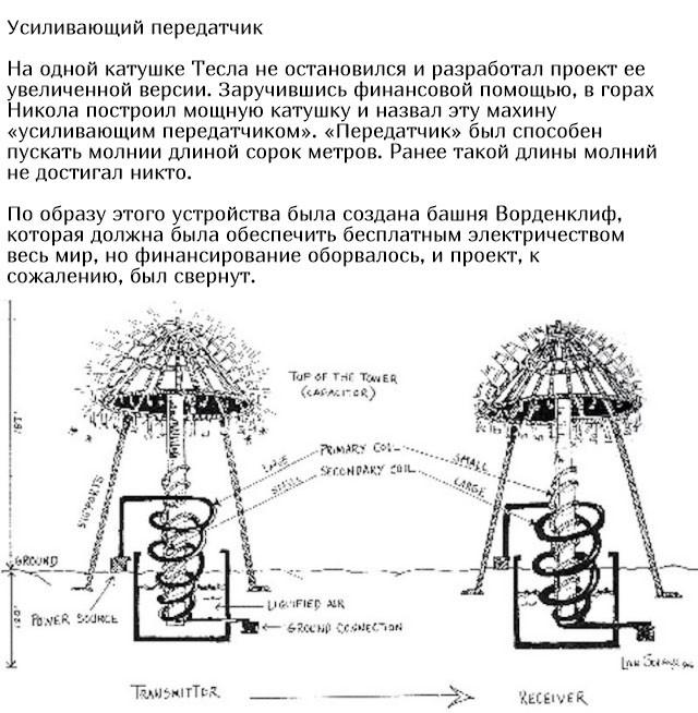 Изобретения Николы Теслы (10 фото)