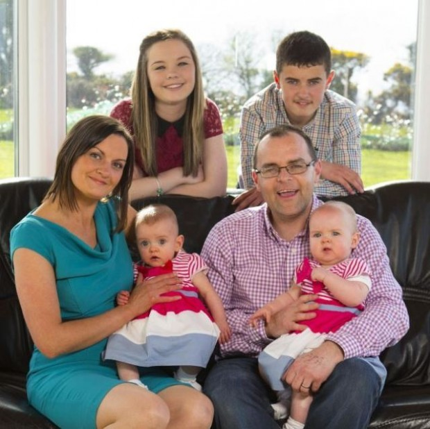 В Ирландии родились близнецы с разницей в 87 дней (5 фото)