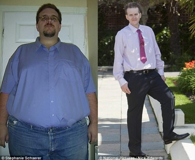Британский электрик похудел на 108 кг (3 фото)
