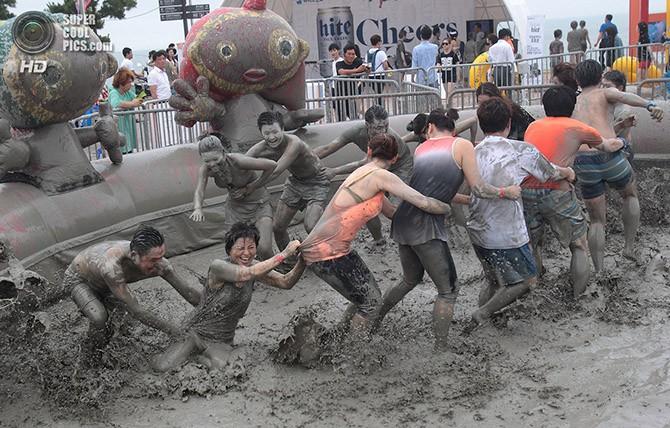 Самый грязный южнокорейский фестиваль (15 фото)